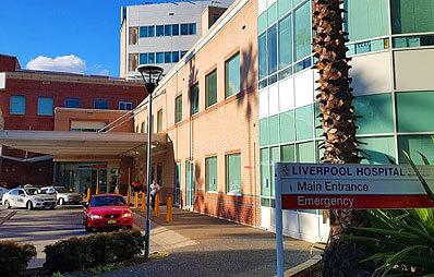 Dr Hugh Wolfenden - Liverpool Hospital Image Hospital Name