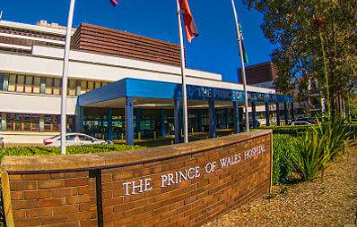 Dr Hugh Wolfenden - Prince of Wales Hospital Image of Hospital Name